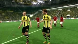 FIFA 17 Dortmund vs Bayern Munich Bundesliga Gameplay PS3