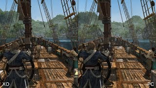 Assassin's Creed 4: Xbox One vs. PC Comparison