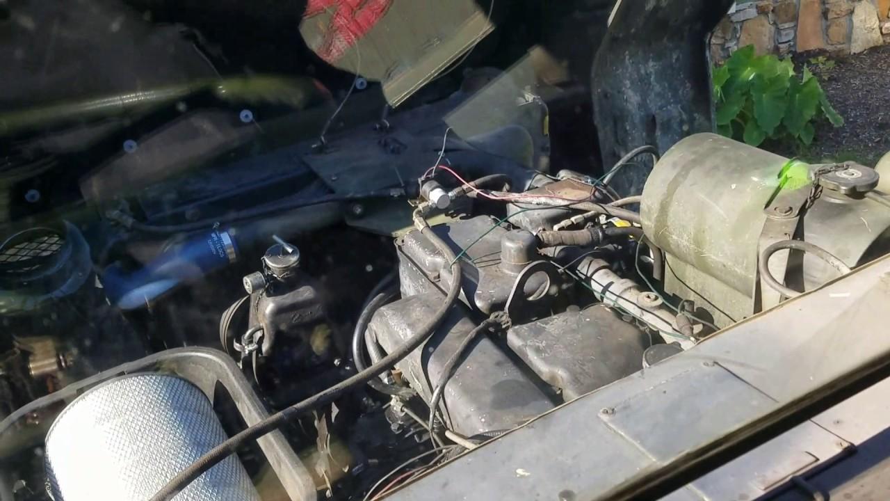 M939A1 NHC250 Fan Clutch Electric Control Solenoid Install