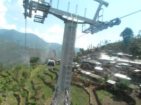 Manakamana cablecar in Nepal