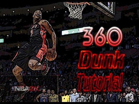 NBA 2K14 360 Dunk Tutorial
