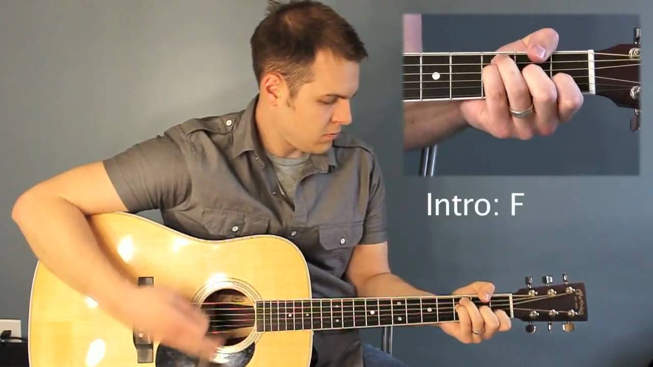 Everything Glorious David Crowder Band Tutorial With Chord Chart