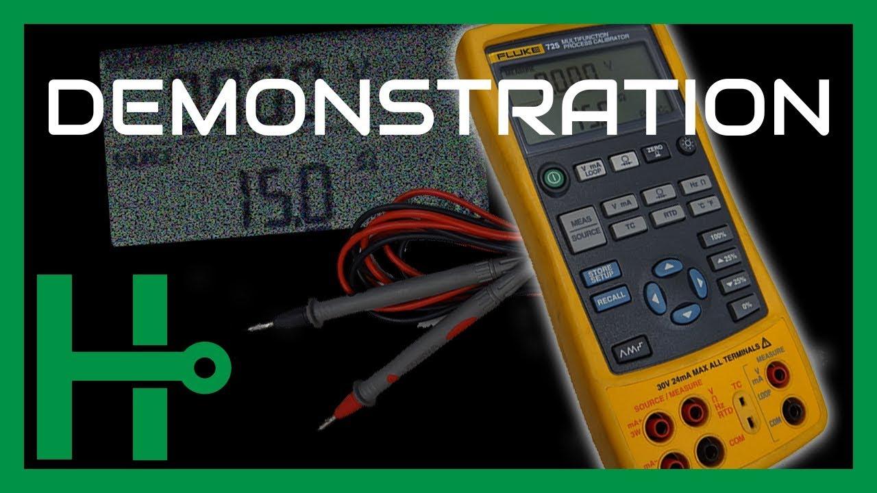 fluke 725 multi process calibrator review by hapeman part 2  [ 1280 x 720 Pixel ]