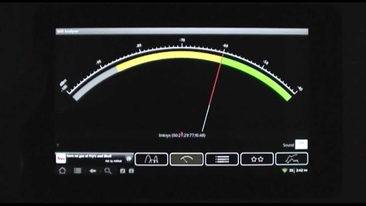 Wifi Analyzer Android Wireless Signal Strength Optimizer