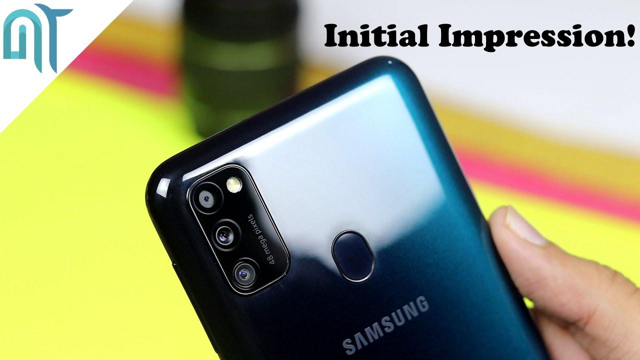 Samsung Galaxy M30s - Initial Impression