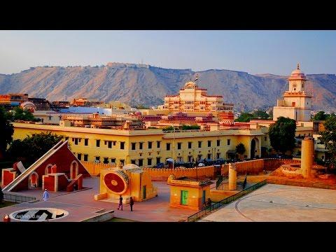 Jantar Mantar and City Palace in jaipur (Rajasthan) INDIA