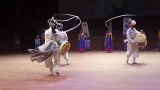 2015년 안성 바우덕이풍물단 상설공연 장구놀이