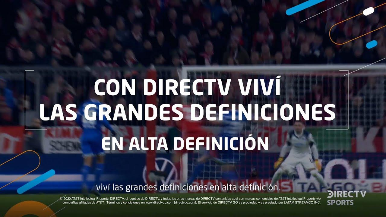 Con DIRECTV viví las definiciones de las ligas europeas