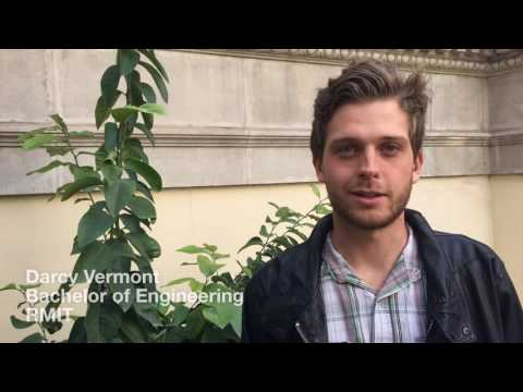Internship in Europe | Darcy Vermont | RMIT Europe