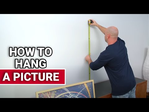 How To Hang A Picture Ace Hardware