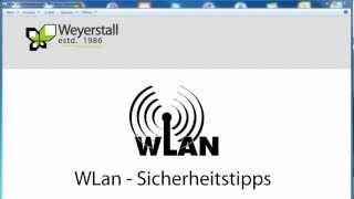WLAN Sicherheitstipps - WLAN absichern