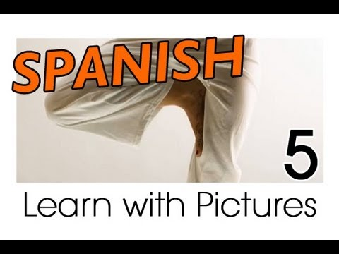 Learn English - English Body Parts Vocabulary - YouTube