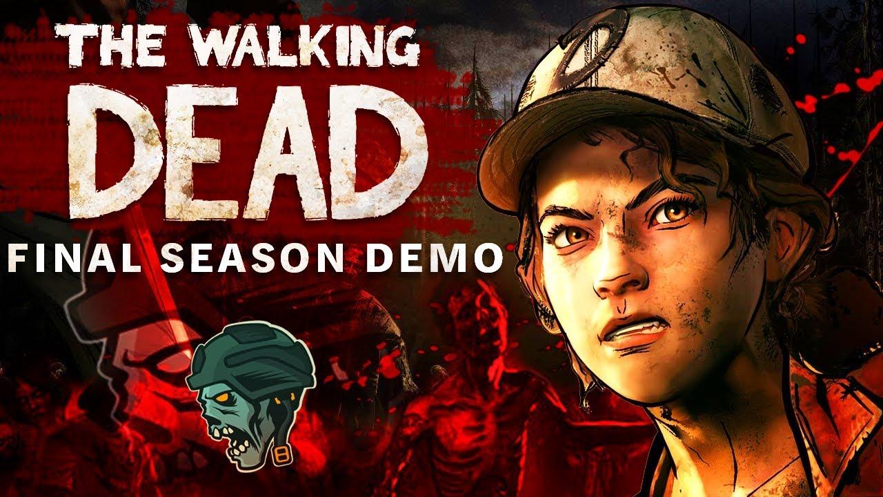 THE WALKING DEAD: THE FINAL SEASON DEMO!! (PS4 Gameplay/Walkthrough)
