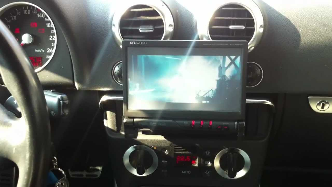 Audi TT 8N & Kenwood KVT526 DVD Moniceiver  YouTube