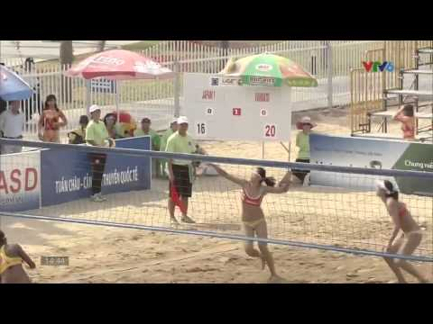 Japan 1 vs Vanuatu (Final/Chung kết) - 2015 Tuan Chau women's beach volleyball