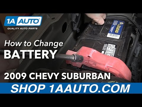 How to Replace Change Battery 07-14 Chevy Suburban