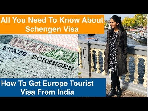 How To Apply Schengen Visa From India | In Hindi | Europe To