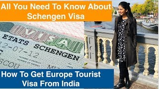 How To Apply Schengen Visa From India | In Hindi | Europe To...
