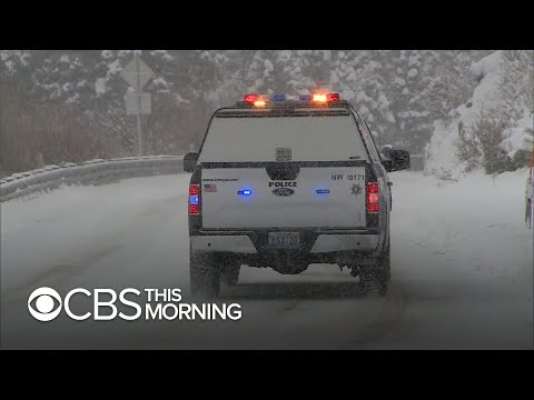 Winter Storm Brings Snow, Rain To Southwest, Causing Nightmare Travel Conditions