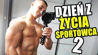DZIEŃ Z ŻYCIA SPORTOWCA 2 *kura workout*