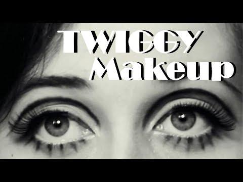 1960's Twiggy Makeup