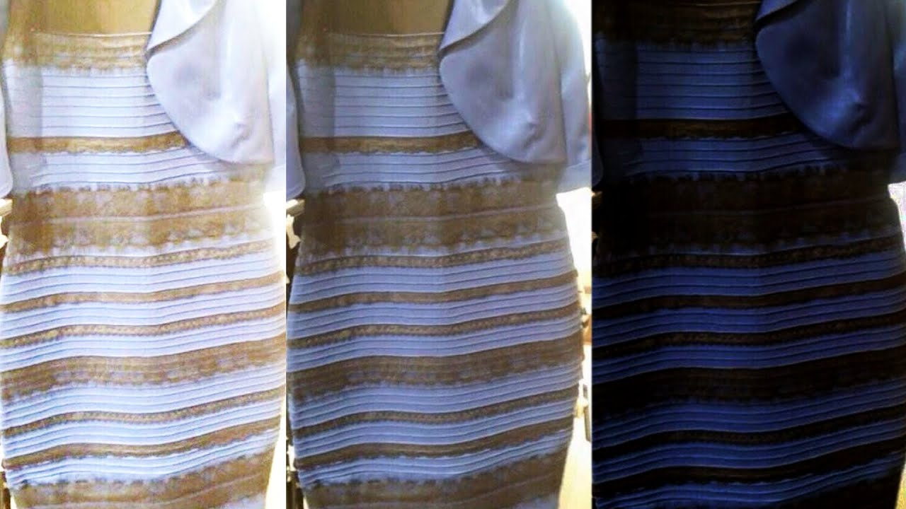 The Dress IS White and Gold  PROOF  YouTube