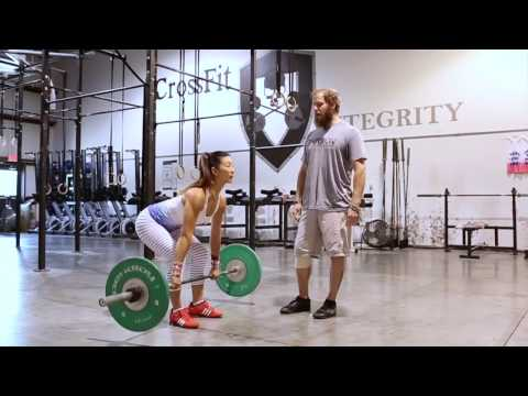 Best Power Clean Form EVER- THE Sexy CrossFit Integrity Mishelle Lee  - GoldStandardStrength.com
