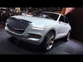 Genesis GV80 Concept Car FIRST DESIGN REVIEW - LIVE from #NYAutoShow