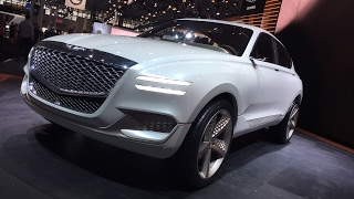 Genesis GV80 Concept Car FIRST DESIGN REVIEW LIVE from NYAutoShow