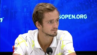 "Daniil Medvedev: ""I knew I had to leave my heart out there"" 