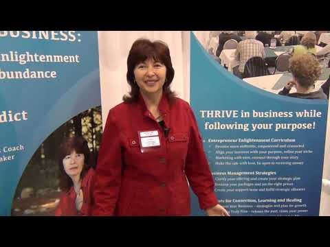 Irena Benedict - entrepreneur enlighthenment at whole life expo