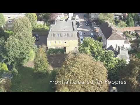 Lorne Road Cemetery (Great Warley) Brentwood Essex drone Ford community day 2017