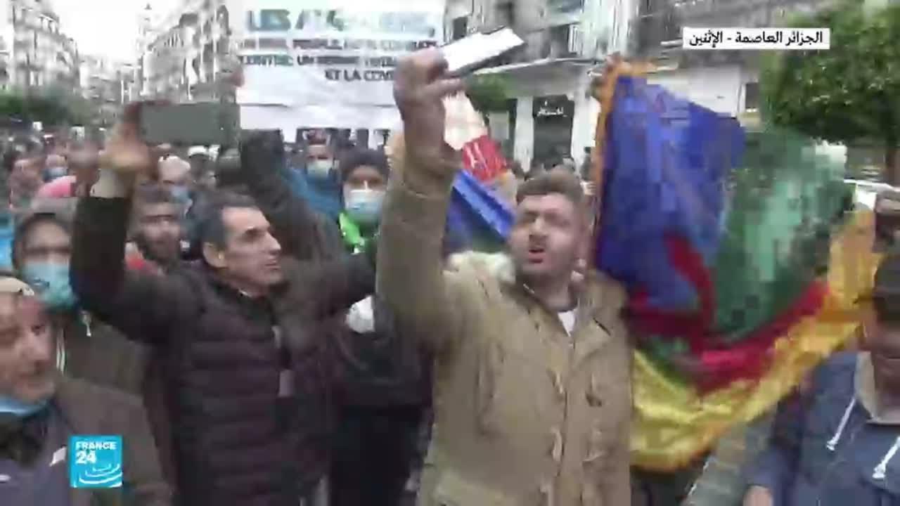 الحراك الشعبي في الجزائر: دعوات للتظاهر في العاصمة وعدة مدن  - 13:59-2021 / 2 / 26