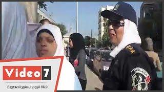 بالفيديو.. جولة للشرطة النسائية بمدارس مصر الجديدة لطمأنة الطالبات فى أول أيام الدراسة