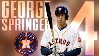 George Springer | Astros 2016 Highlights Mix ᴴᴰ