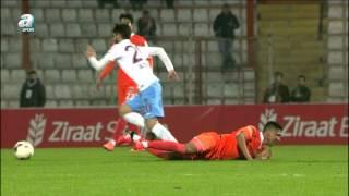 Adanaspor 1 - 4 Trabzonspor (12 Ocak 2016) Maç Özeti