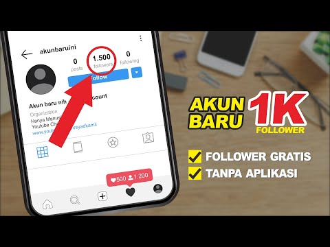 WORK! CARA MENAMBAH FOLLOWER INSTAGRAM GRATIS