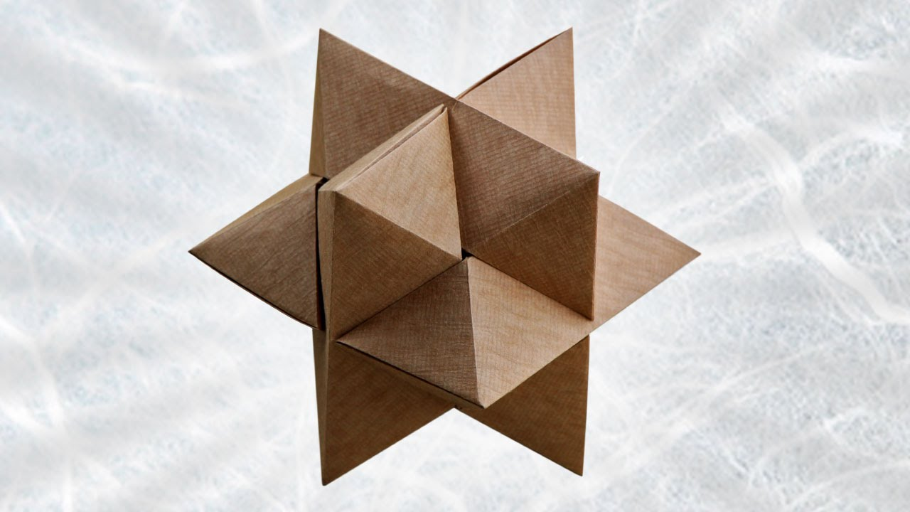 Origami Burr Puzzle (Froy)