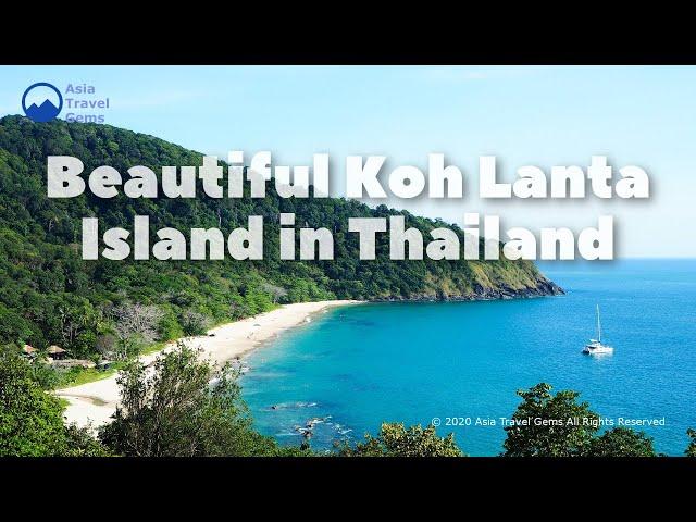 Beautiful Koh Lanta Island in Thailand