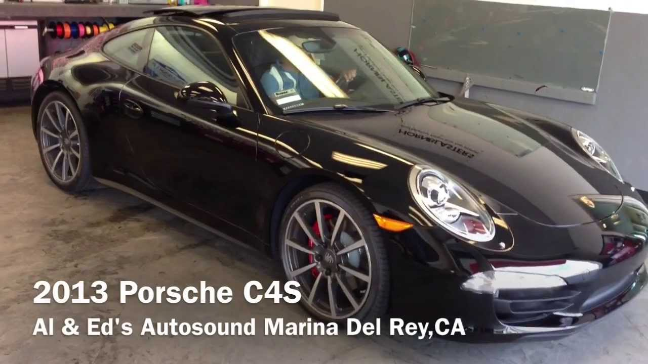 2014 Porsche 991 Carrera C4s Window Tint Geoshield Dark