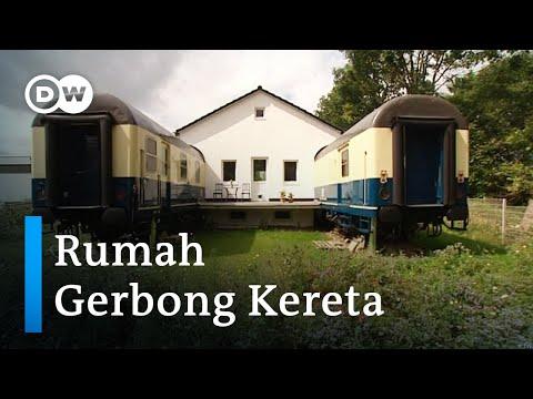 Rumah dari Gerbong Kereta