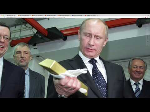 """Inside Look at Russia's Gold """"Fort Knox"""" Secure Vault! U.S. Fort Knox is Empty!"""