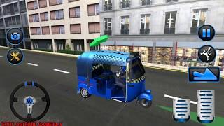 Police Tuk Tuk Auto Rickshaw #2 | Indian Police Tuk Tuk | Android Gameplay FHD