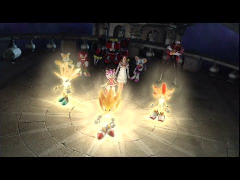 Sonic The Hedgehog (2006): Last Story - All Cutscenes [1080p]