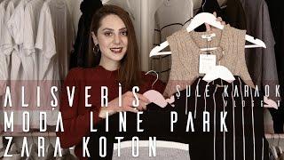 Alışveriş: Koton, Moda Line Park, Zara, Shopigo
