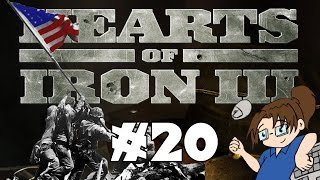 Hearts of Iron 3 - United States of America - Ep 20 [Germany Strikes Back]
