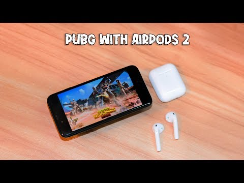 Playing Pubg Mobile With Apple AirPods 2 Copy | TechFlip17 🧐