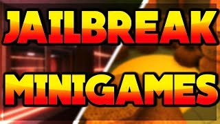 🔴Roblox Jailbreak Livestream l⭐ PLAYING MINIGAMES & MORE ⭐l🌟NEW MINIGAME IDEA!! 🌟l