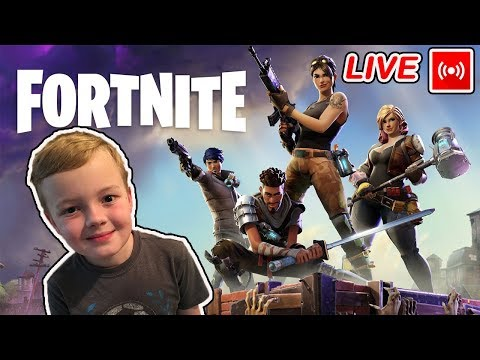 LIVE STREAM! Kids Fortnite Gameplay PS4 Let's Play | New Map Update | Game On