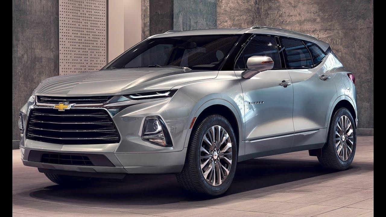 2019 Chevy Blazer - Sporty SUV with Bold Design - YouTube